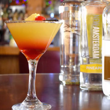 Pineapple Upside Down Martini-Video